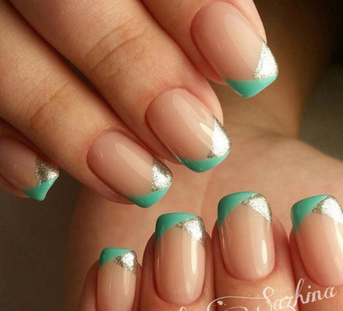 Идеи цветного френча Цветной френч на ногтях: модные варианты (ФОТО)
