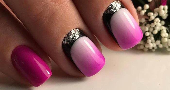 Гель Лак На Маленькие Ногти Дизайн Фото
