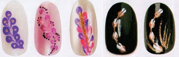 Простые рисунки на ногтях для начинающих
