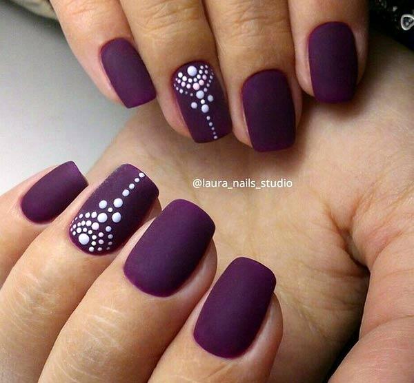 Рисунки на ногтях: модные идеи пошагово