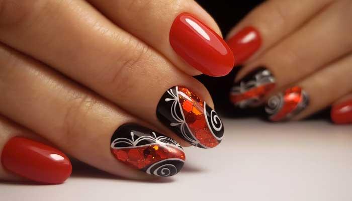 Красный аквариумный дизайн