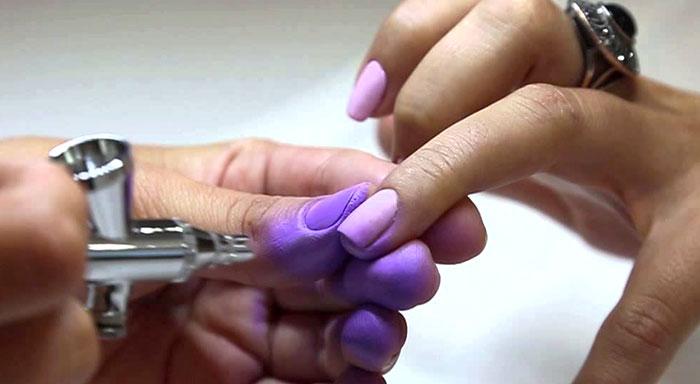 Градиент на ногтях гель-лаком: как сделать (ФОТО)