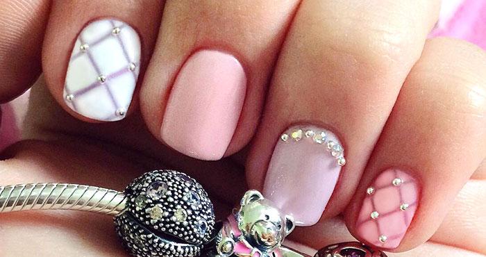 Дизайн коротких ногтей гель-лаками