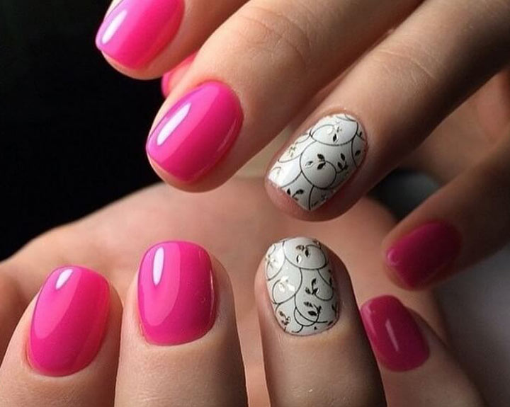 Простые рисунки на ногтях гель лаком для начинающих