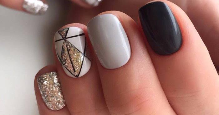 посмотреть фото нарощенных ногтей с морской тематикой