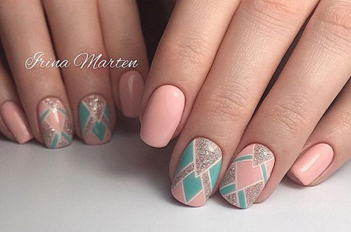 Геометрия на ногтях: основные виды, модные идеи