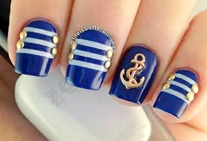 Маникюр жены моряка