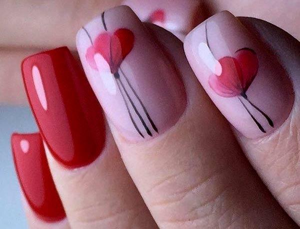 Цветы на ногтях. Весенний маникюр на 8 марта