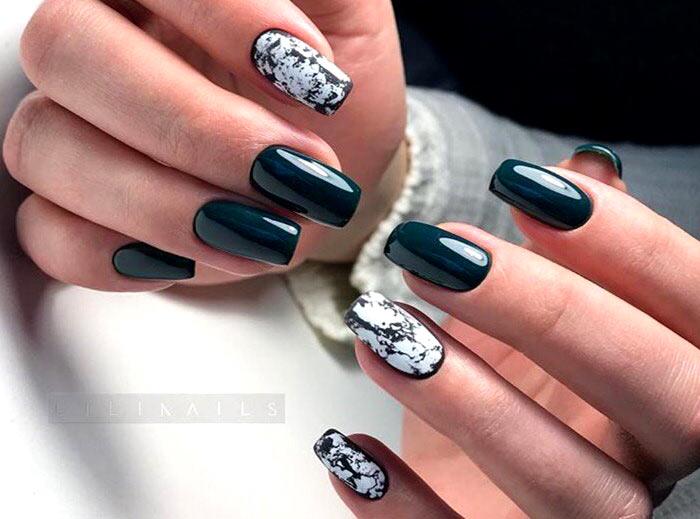 Модный дизайн ногтей зимы-2022