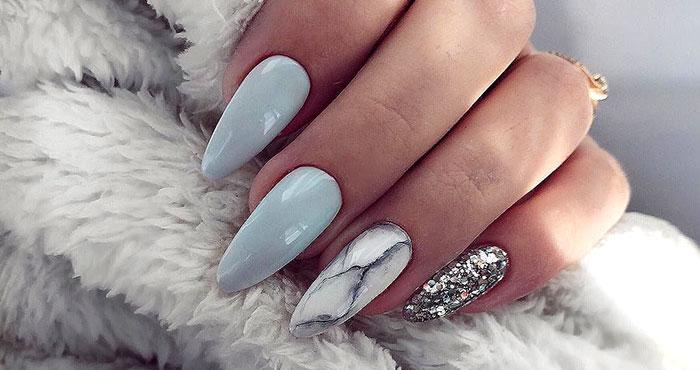 Дизайн Ногтей На Длинные Квадратные Ногти Фото